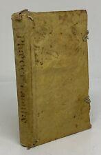 1759 Aesopian Fables Phaedrus In Latin And Greek Vellum Binding
