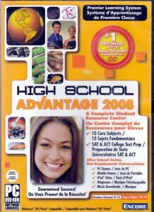 HIGH SCHOOL Grades (9-12) 10 Subjects Homeschool DVD FREE US SHIPPING