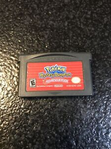 Pokemon Mystery Dungeon: Red Rescue Team (Nintendo Game Boy Advance GBA)