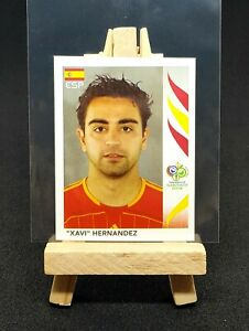 2006 Panini World Cup - Xavi Hernandez 1st World Cup ROOKIE Sticker - #542