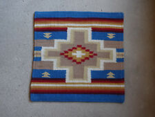 Wool Pillow Cover HIMayPC-62 Hand Woven Southwest Southwestern 18X18