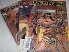 Conan # 1, 3 & 4 Dark horse comics. Near Mint. Kurt Busiek Nord