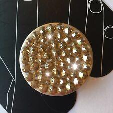 NEW Bling Authentic PopSocket Metallic GOLD Swarovski Crystals PopSockets iPhone