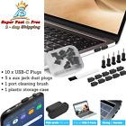 Samsung Phone Type C Protector Cap Mac Laptop Port Cover Audio Jack Dust Plug