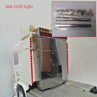 Side Light Lampe Side LED Licht Bar für 1/14 TAMIYA Scania 620 56323 730 470 RC