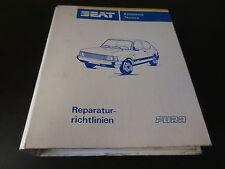 Manuel d'atelier Seat Fura/Support 1984/Moteur Transmission électrique