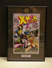 1992 FRAMED MARVEL COMICS X-MEN ADVENTURES #1 ACETATE CEL COVER ART #84 OF 600