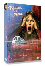 MURDER BY PHONE (Richard Chamberlain rarity)  DVD
