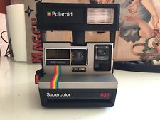 polaroid  supercolor 635  vintage