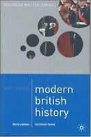 Mastering Modern British History (Palgrave Master Series) By Norman Lowe