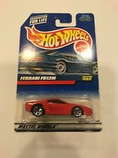 Hot Wheels 1999 Ferrari F512m Red #992 Exotic Rare HTF 5 Spokes Sealed New