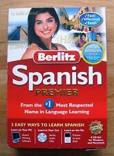 Berlitz Spanish Premier for PC, Mac 8 CD.