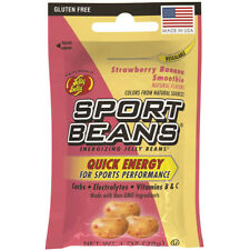 Jelly Belly Candy STRAWBERRY BANANA SMOOTHIE SPORT BEANS 12 PACK ~ FRESH