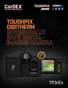 CorDEX TP3rEx Toughpix Digitherm Wireless Thermal Imaging Camera ATEX, IECEx