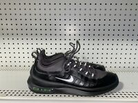 Nike Air Max Axis Premium Mens Athletic Running Shoes Size 10 Black Gray Green
