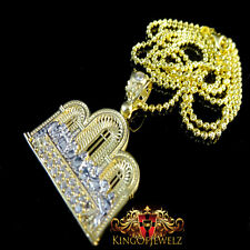10k Gold Two Tone  Last Supper Jesus & Apostles Gospel Pendant Charm Free Chain
