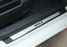 Stainless Steel + ABS Door sill scuff plate to VW Golf 7 MK7 VII 2013 2014 2015