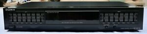 Sony SEQ-411 Graphic Equalizer 7-Band HiFi Stereo High End mit Spectrum-Analyser