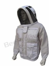 Unisex 3 Layer Ultra Ventilated Bee Jacket Bee Outfit Protective Astronaut Veil