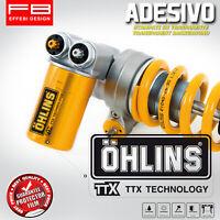 Adesivi Stickers OHLINS TTX suspension mono Moto Gp SBK motorsport motorbike