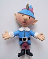 CHOIR ELF Plastic PVC Ornament Island Misfit Toys Rudolph PLAYING MANTIS - NICE!