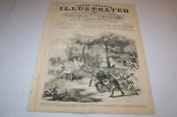 JULY 27 1861 FRANK LESLIES ILLUSTRATED - RICH MOUNTAIN