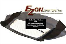 1996-06 Chrysler Sebring Convertible Heated Glass Windw Section Only White Vinyl
