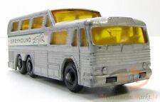 Matchbox series nº 66 autobús Greyhound coach (GMC) regular Wheels scale aprox. 1:75