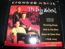 Crowded House It's Only Natural Digipak 5 Track CD EP