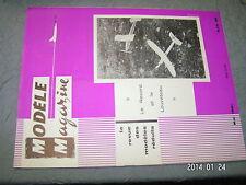 Modele Magazine n°130 plan encarte Clown de Rosello / Planeur Nordique evolution