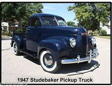 1947 Studebaker Pickup Truck   Refrigerator / Tool Box Magnet