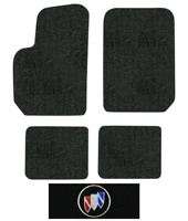 1995 1988 1996 Chevrolet Beretta Coupe Black with Red Edging Driver /& Passenger 1991 1993 1994 1992 1990 1989 GGBAILEY D3039A-F1A-BLK/_BR Custom Fit Automotive Carpet Floor Mats for 1987