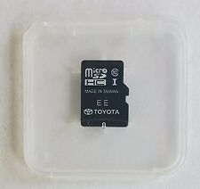 ✅ TOYOTA Navigation Micro SD Card Map Data LATEST UPDATE OEM 86271 0E072 0E072