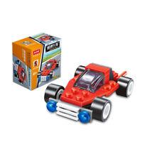 Mini Police Yacht City Function Car Building Blocks Children Toys Racer