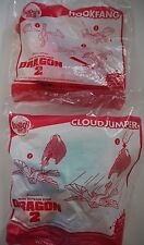 How To Train Your Dragon 2 Happy Meal Toy McDonalds Hookfang & Cloud jumper