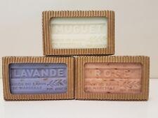 Artisanat de Provence 3 x125 gr French Soap Rose Lavender Muguet Classic Scents
