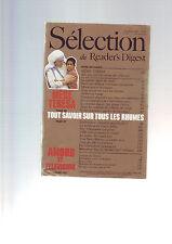 Selection Du Reader's Digest N° 490 : Décembre 1987