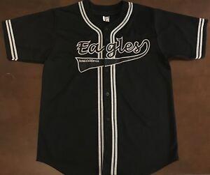 Rare Vintage 2003 Eagles Hotel California Baseball Jersey