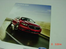 Ford 2013 Taurus and Sho Model Series Sales Brochure Mid size sedan