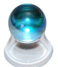 Aqua Aura crystal mini sphere 25mm Dia 11gms.Reiki, Guardian Angel#9405