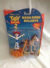 Toy Story 2 Jessie Rides Bullseye Figure Set - Rare - BNIB!
