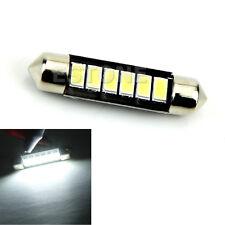 Bright White 12V 6-LED 5730 42mm Car Interior Festoon Dome Light Roof Lamp Bulb
