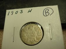 1903 H - Canada 10 cent - Silver Canadian dime