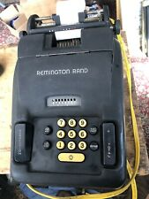 Vintage Early Model 93 Remington Rand Adding Bookkeeping Calculating Machine