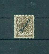 Ungebrauchte Briefmarken mit Falz aus der Kolonie Marianen