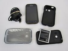 Samsung Galaxy Stardust Tracfone Cell Phone + 3 Cases Wall Charger Extra Battery