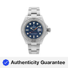 Rolex Yacht-Master 40MM Steel Platinum Blue Dial Automatic Mens Watch 126622