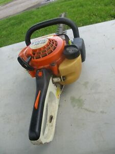 """WORKING STIHL HS45 HEDGE TRIMMER AS IS SHOWN,GUARANTEED TO RUN HS-45-24"""" CUT"""