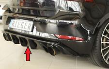 Rieger Heckeinsatz Diffusor für VW Golf 7 + GTI FACELIFT  NEU / RIEGER-Tuning