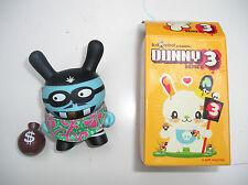 Dunny series 3 – Bank robber Mischka – KidRobot – 2.5 inch
